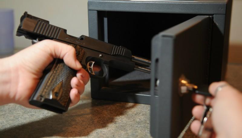 gun safe not opening