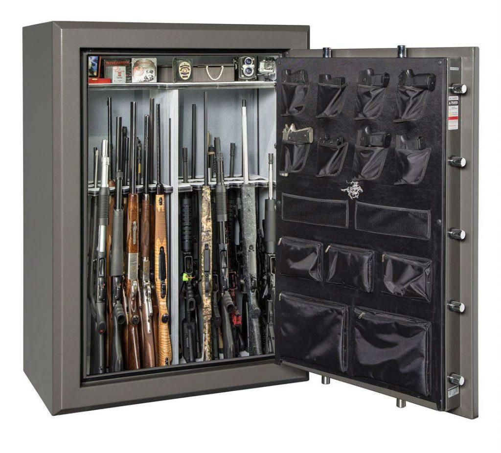 best gun safe for fire and burglary